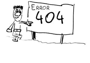 Выдает ошибку 404 Not Found - разбираемся в вопросе