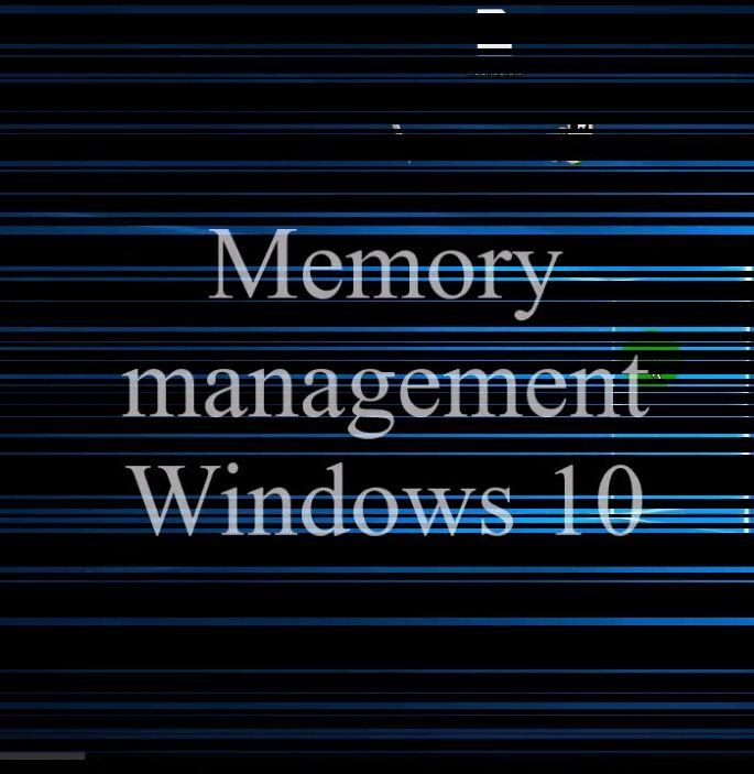 Исправление ошибки memory management Windows 7, 8 и 10