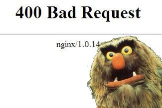 Исправление ошибки 400 Bad request