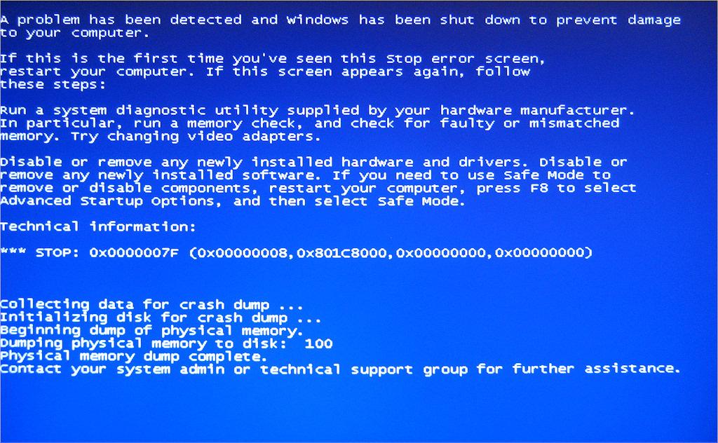 Ошибка 0x000000ed Windows XP и 7 – исправление