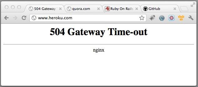 Как избавиться от ошибки 504 Gateway Time-out