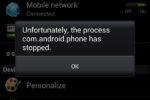 Ошибка com.android.phone — несколько алгоритмов исправления