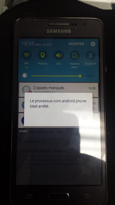 Ошибка com.android.phone - несколько алгоритмов исправления