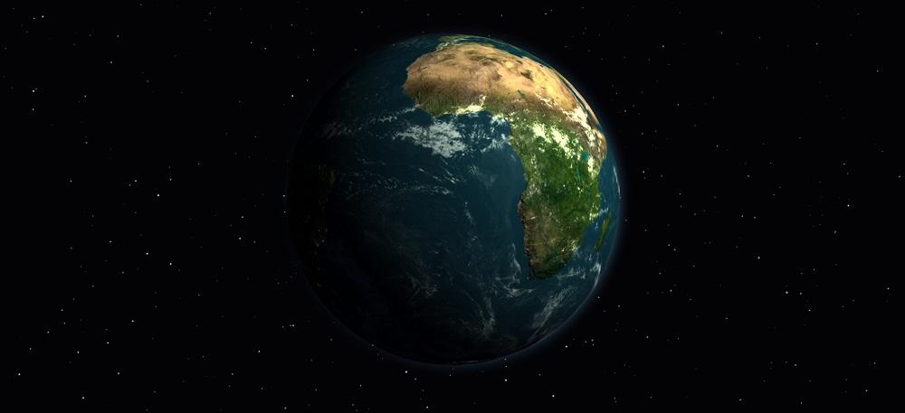 Бесплатный глобус Земли в 3D эффекте Mother Earth