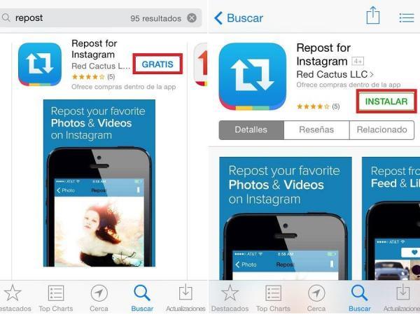 Repost for Instagram Как сделать репост в Instagram с текстом