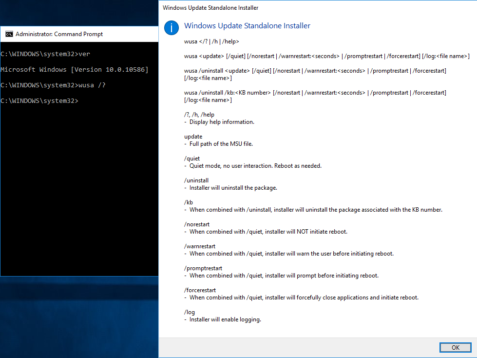 Update Standalone Installer