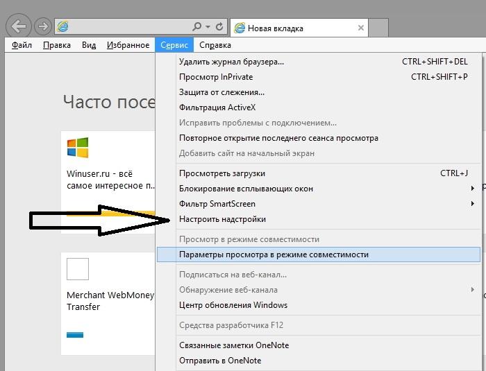 wrong url в Internet Explorer