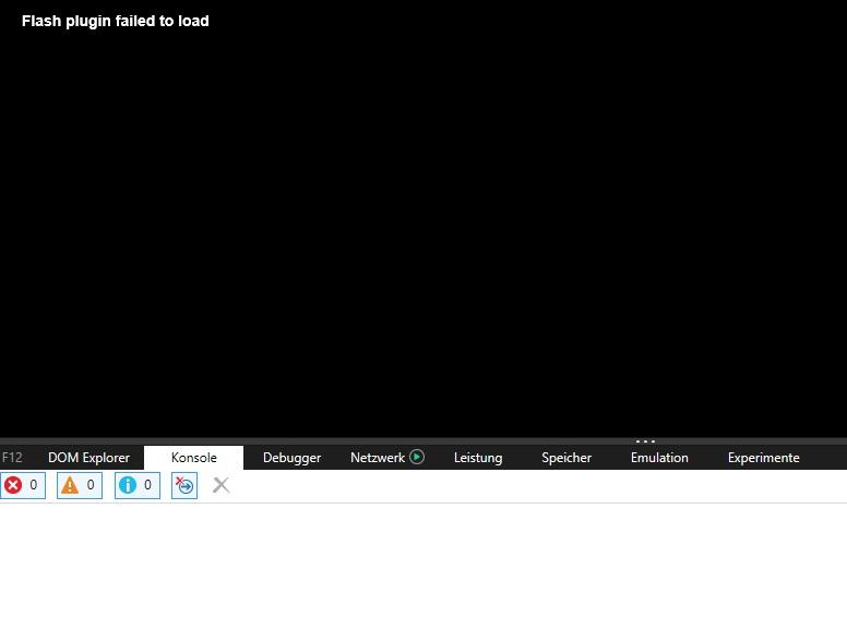 Надпись Flash plugin failed to load: что это за ошибка и как её исправить?
