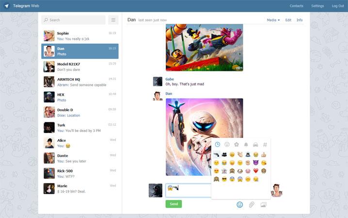 Как переслать видео файл в Telegram