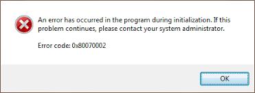 Код ошибки 0x80070002 в Windows 7 и 10: как исправить?