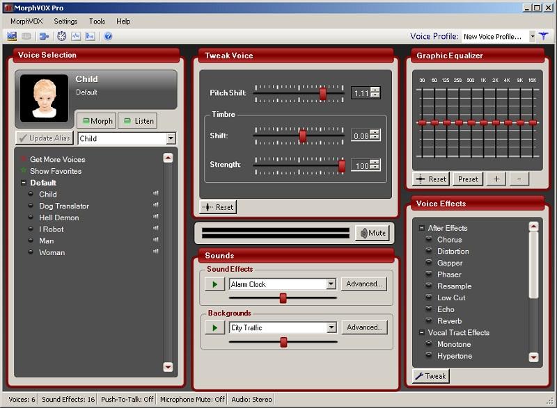 Лучшие программы по изменению голоса в мессенджер Discord MorphVox Pro