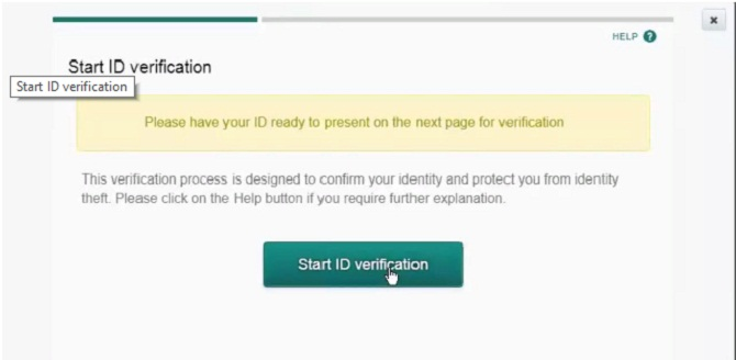Poloniex Start ID Verification
