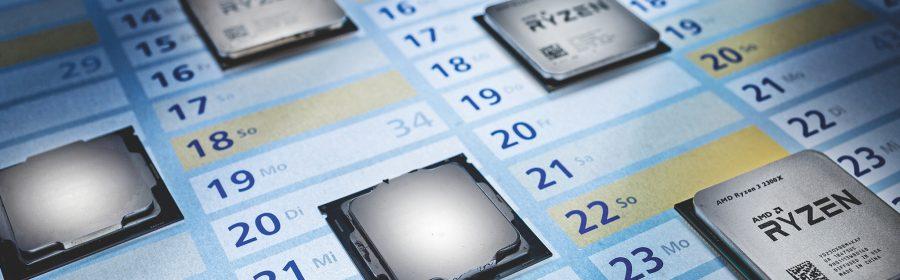 процессорный календарь