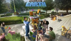Minecraft Earth от Microsoft