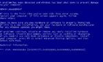 Код ошибки 0x0000001a решение синего экрана Windows 7